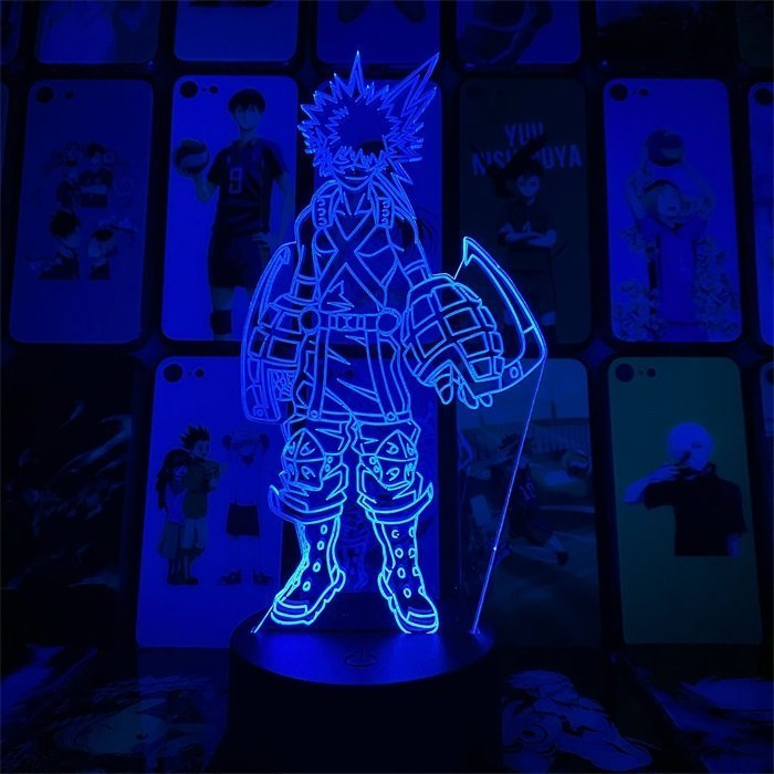 Bakugou 16 Colors Table Lamp