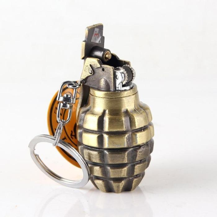 Grenade shape gas lighter