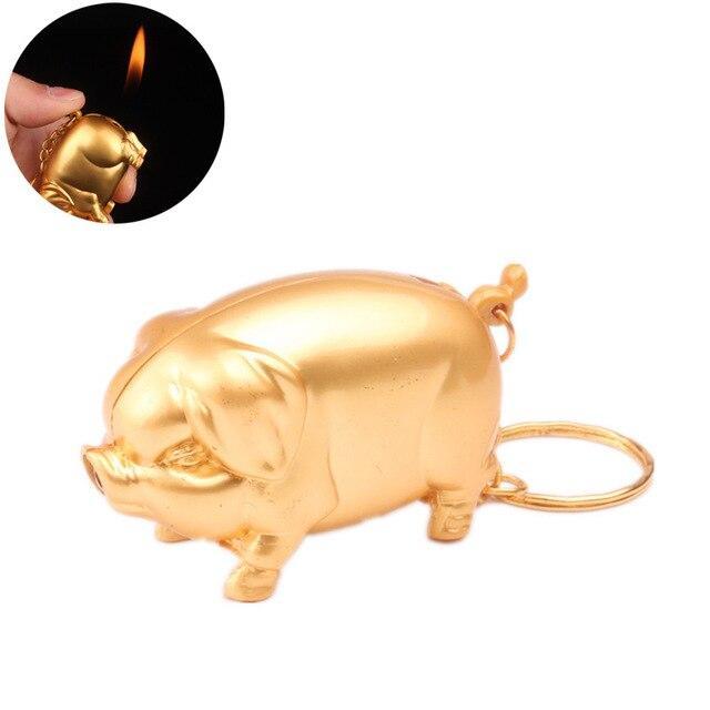 Creative Novelty Little Piggy Lighters