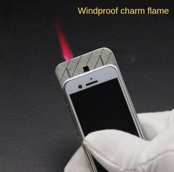 Classic IPhone Windproof Gas Lighter