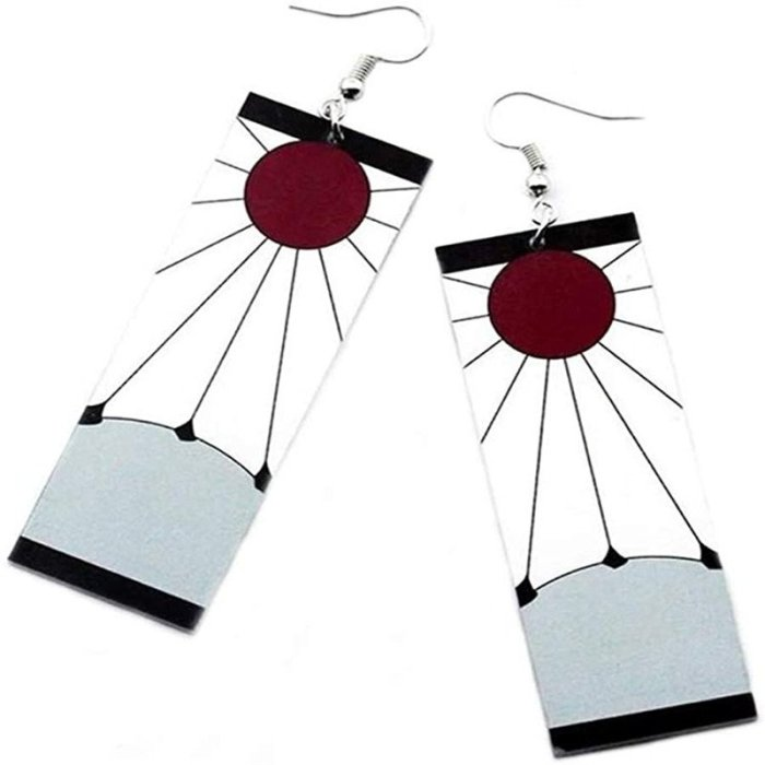 Tanjiro Earrings Demon Slayer Earrings