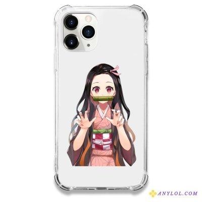 Nezuko Soft Phone Case For iPhone