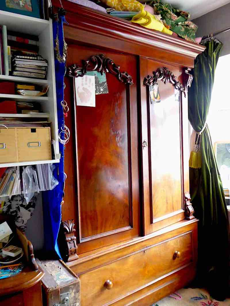 antique wardrobe bedroom