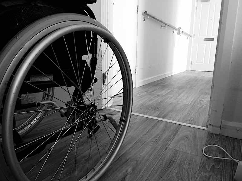 sheltered accommodation wheelchair