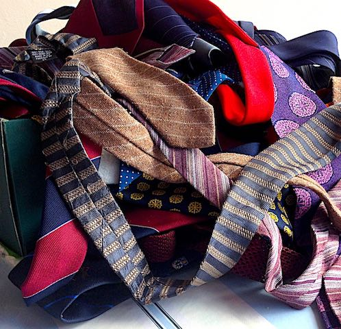 people: vintage ties in bundle