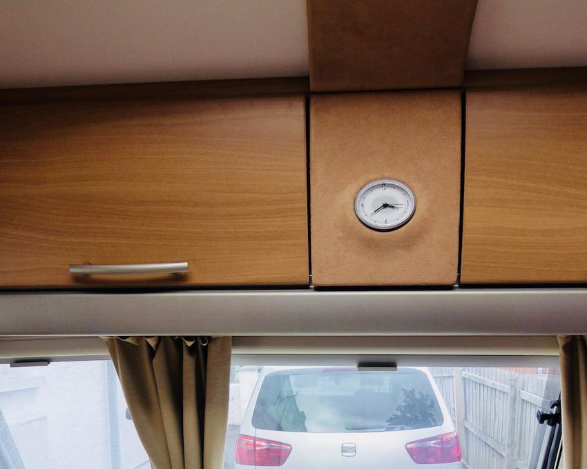 caravan cupboards overhead