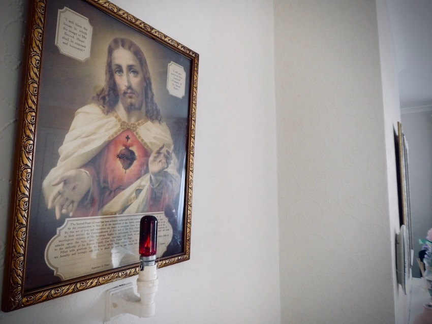religious picture, sacred heart