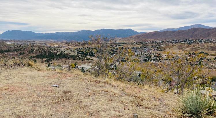 view of Colorado countryside