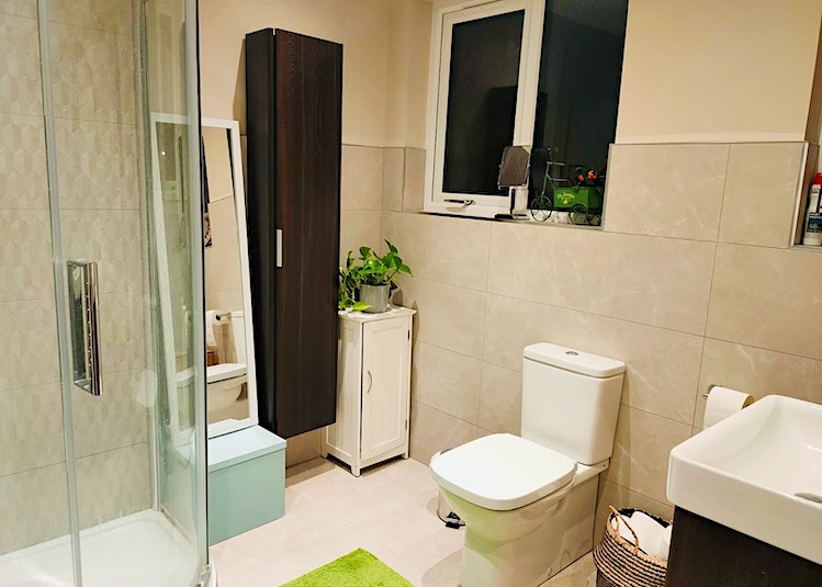new bathroom in doctor's house