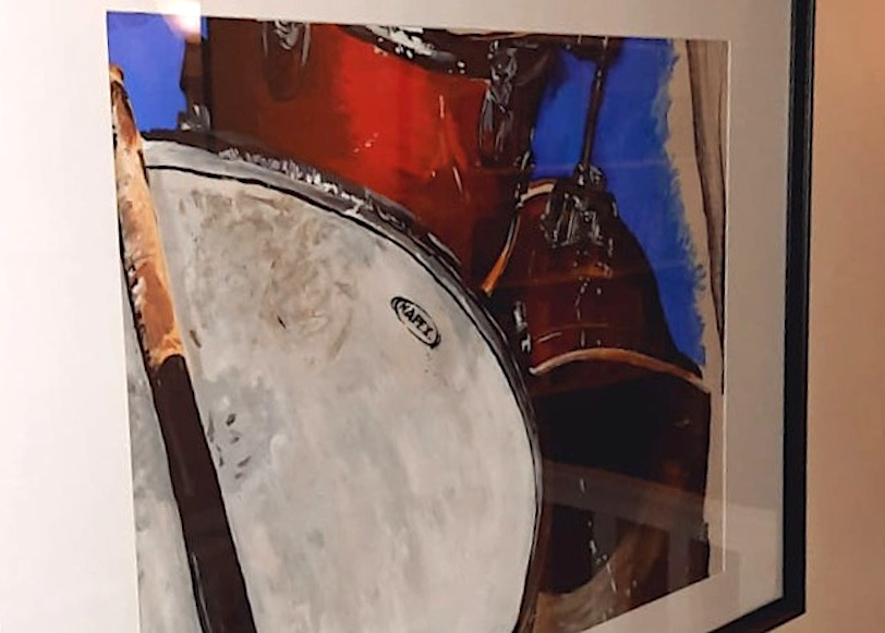 painting of drums
