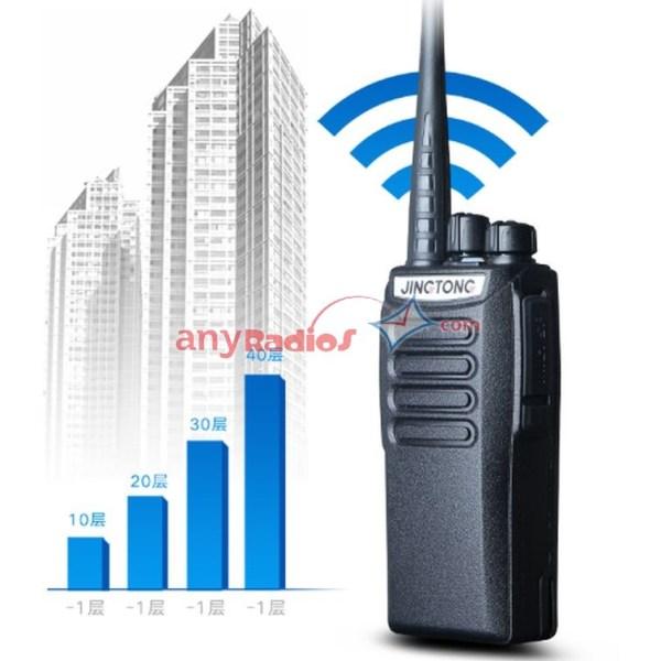 Professional Radio JINGTONG JT-228 UHF 400-470MHz/VHF136 ...