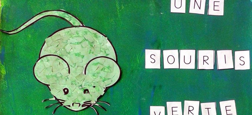 Souris verte - Composition plastique