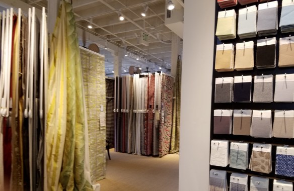 A showroom in the Design Center