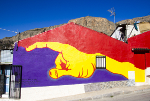 Mural on San Isidro House