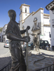 Bull Running in Grazalema