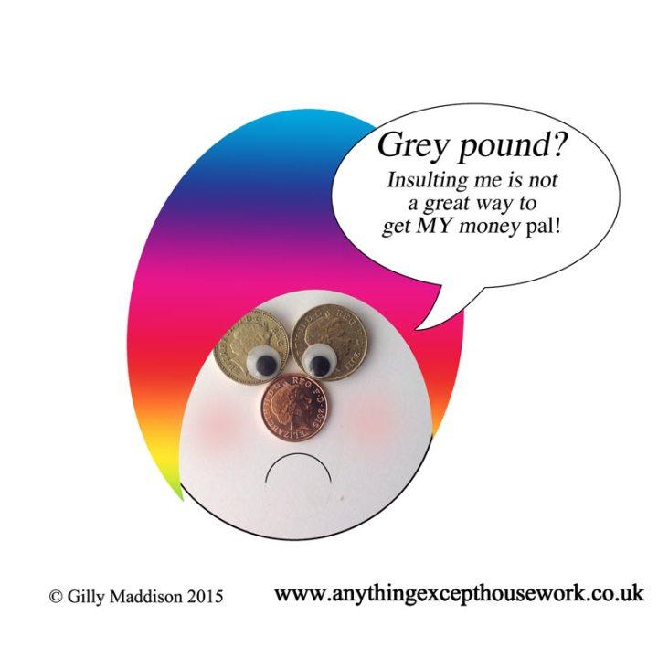 Grey pound