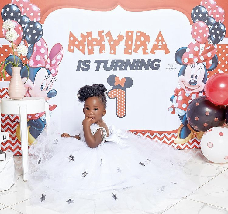 Tracey Boakye And Papa Nu's Daughter Celebrate 1 Year With Stunning Photos