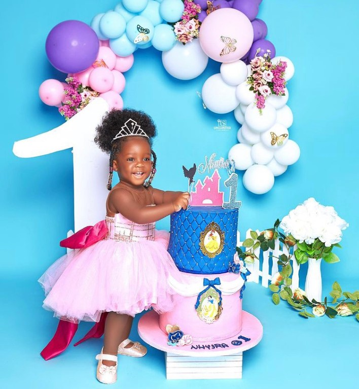 Tracey Boakye And Papa Nu's Daughter Celebrate 1 Year With Stunning Photos 5
