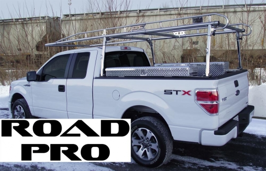road pro lifetime ladder rack extended or crew cab full size pickups with 6 5 ft bed
