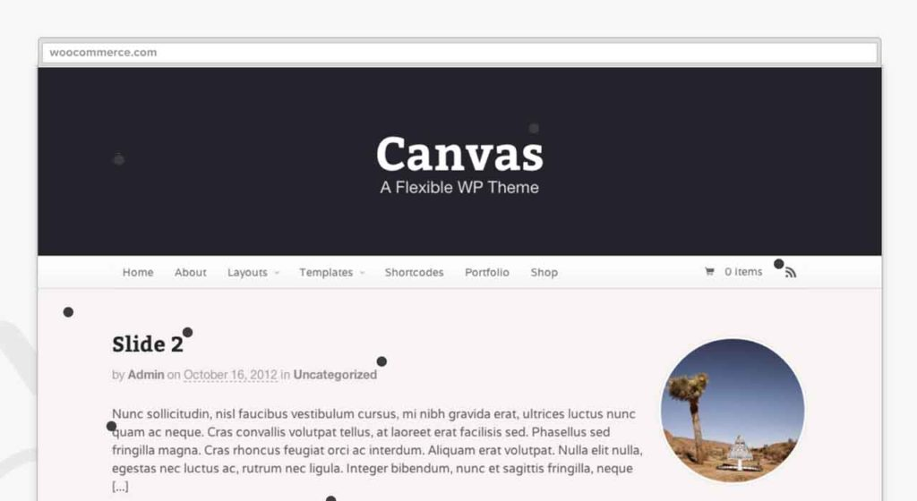 WooCommerce Canvas Visual Page Builder