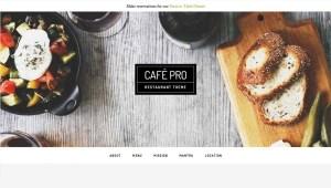 Studiopress Genesis WordPress Cafe Pro Theme