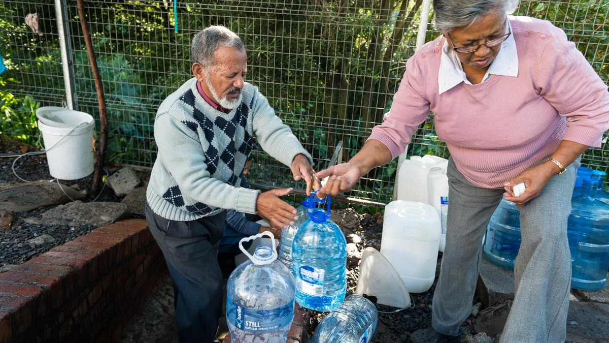 How we survive the Cape Town drought