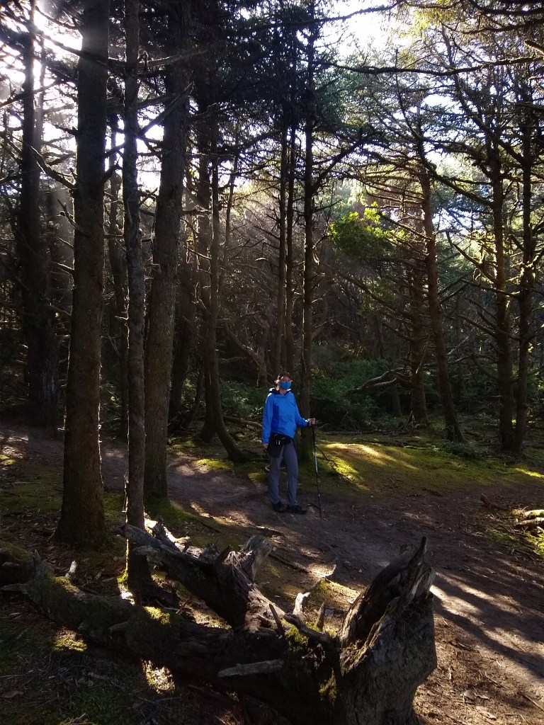 Masked on the Hobbit Trail