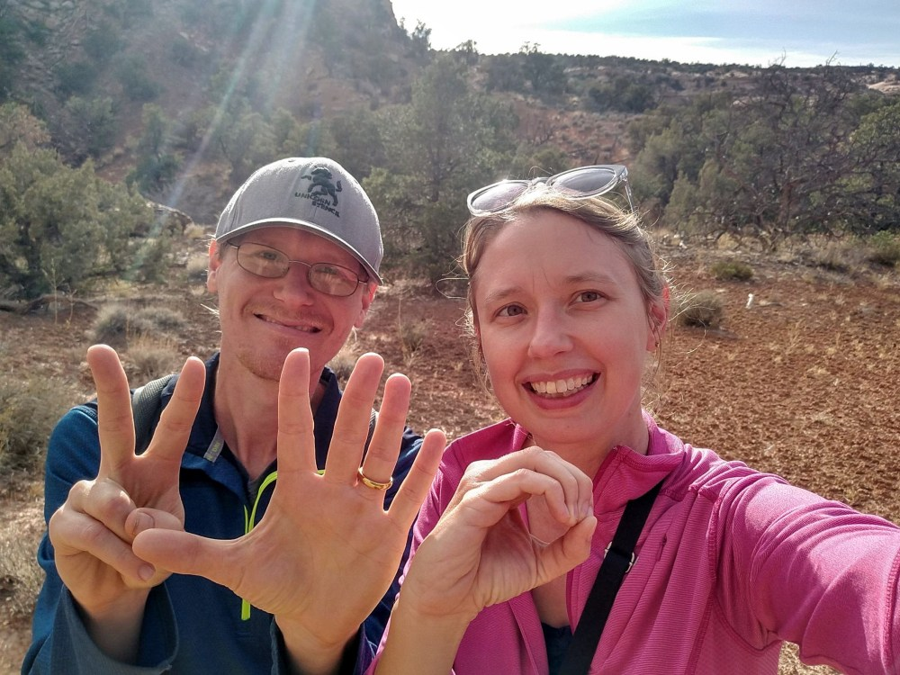 Achievement alert! We hike 250 miles in 12 weeks