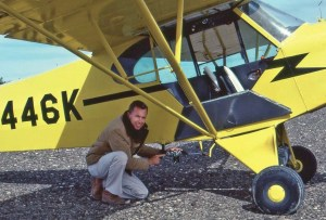Harry Casey and aerial geoglyph photos