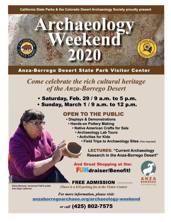 Arch Weekend Flyer Feb 2020