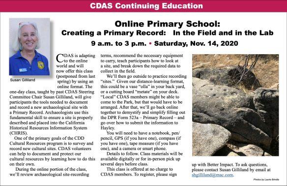 Creating Primary Records