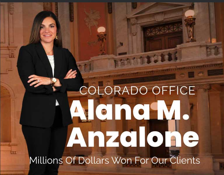 Colorado | Anzalone Law Offices, LLC | Personal Injury Attorneys