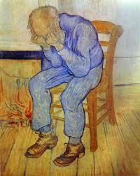 Vincent Van Gogh, Uomo anziano nel dispiacere, 1890