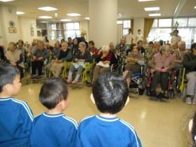 老人保健施設訪問