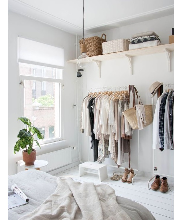 Amenagement Petit Dressing Amazing Un Dressing En Tuyaux