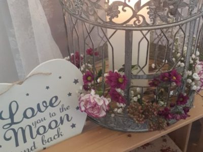 Aoife's Occasions: Bird Cage Wedding Prop