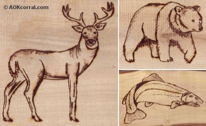 Wood-Burning Patterns