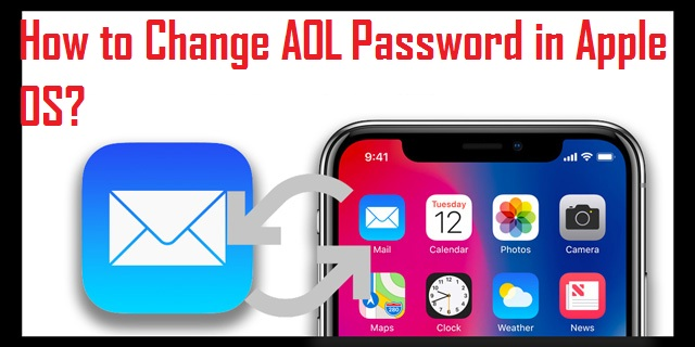 Change AOL Password in Apple OS