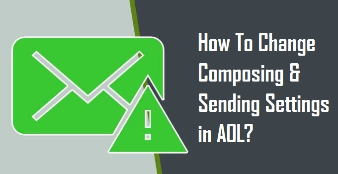 Change Composing & Sending Settings in AOL