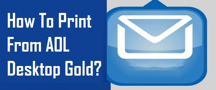 Print From AOL Desktop Gold