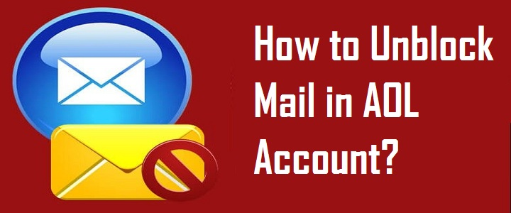 Unblock Mail in AOL Account