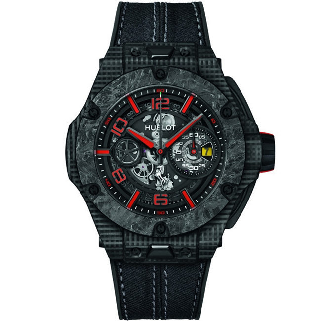 Replica Hublot Big Bang Scuderia Ferrari 90th Anniversary 3D Carbon 402.QD.0123.NR