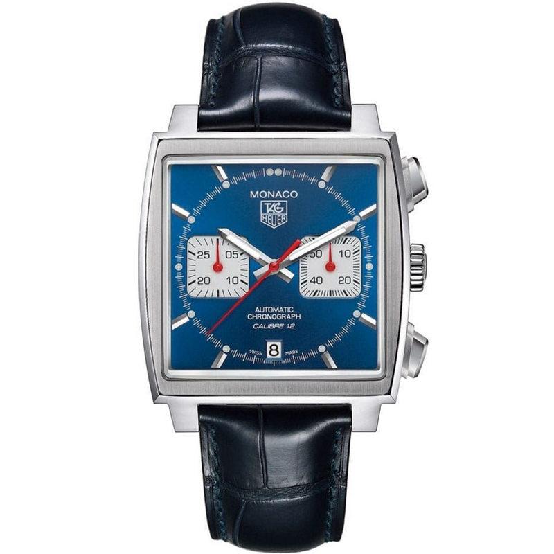 Replica TAG Heuer Monaco Calibre 12 Chronograph Steve McQeen CAW2111.FC6183