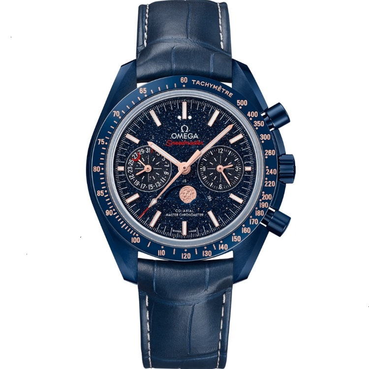 Replica Omega Speedmaster Moonwatch Blue Side of the Moon 304.93.44.52.03.002