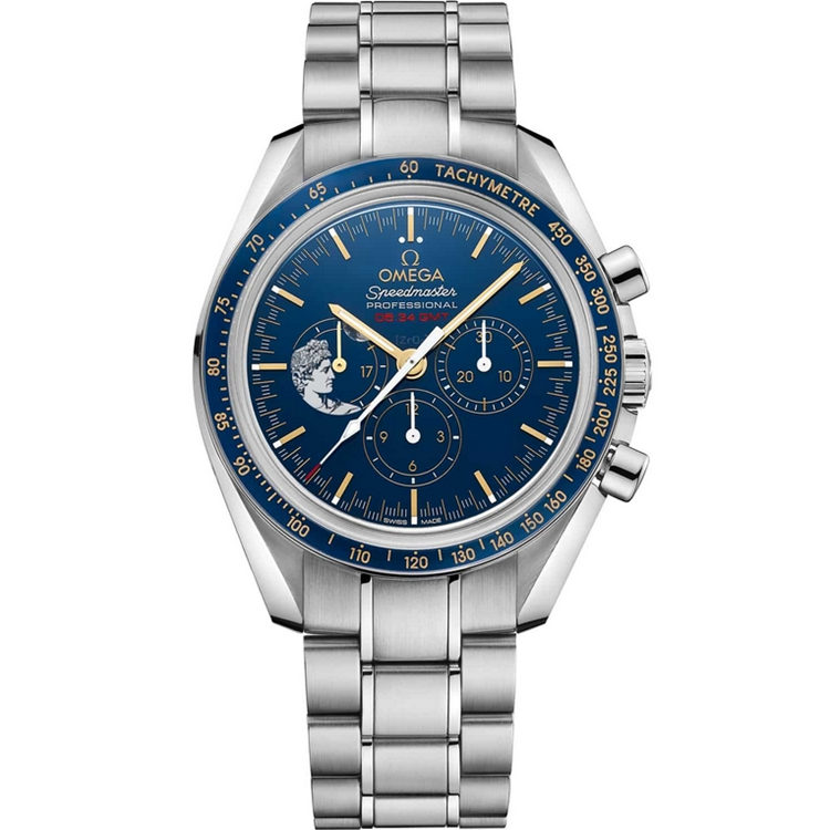 Replica Omega Speedmaster Moonwatch Apollo 17 45th Anniversary 311.30.42.30.03.001