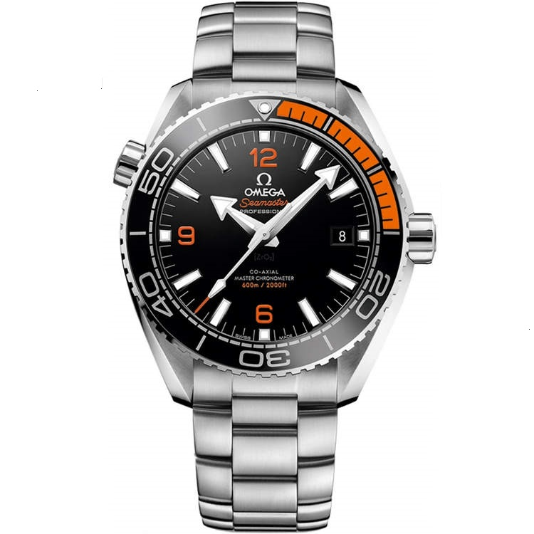 Replica Omega Seamaster Planet Ocean 600m Steel/Orange 215.30.44.21.01.002