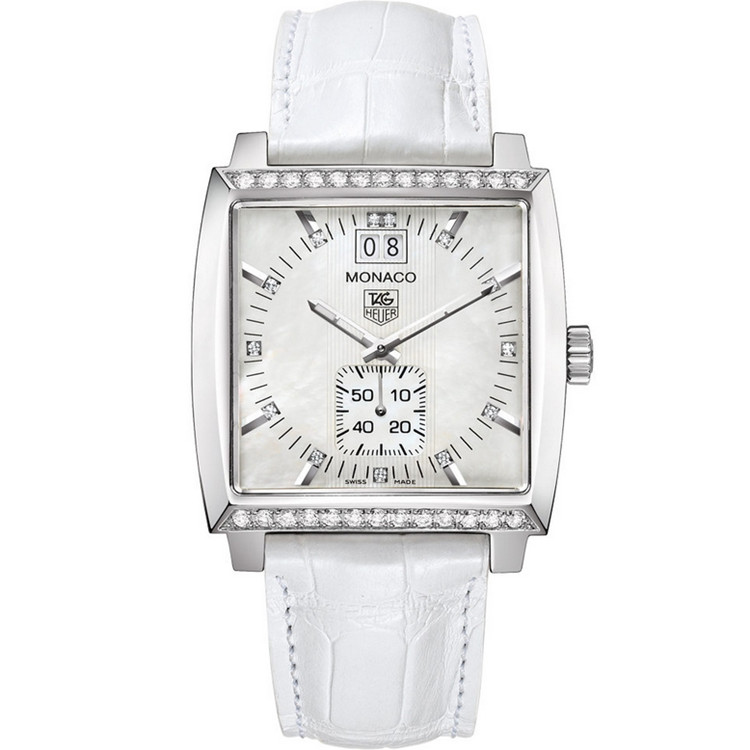 Replica TAG Heuer Monaco Steel Diamond Ladies WAW1313.FC6247