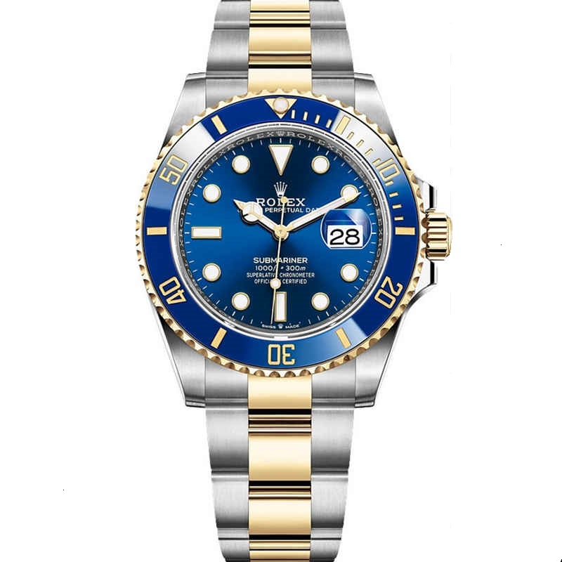 Replica Rolex Submariner Date Stainless Steel Yellow Gold 126613LB