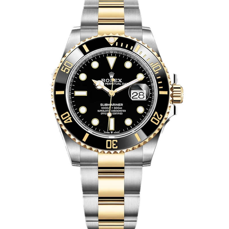 Replica Rolex Submariner Date Stainless Steel Yellow Gold 126613LN