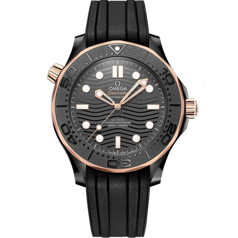 Replica Omega Seamaster Diver 300M Sedna Black 210.62.44.20.01.001